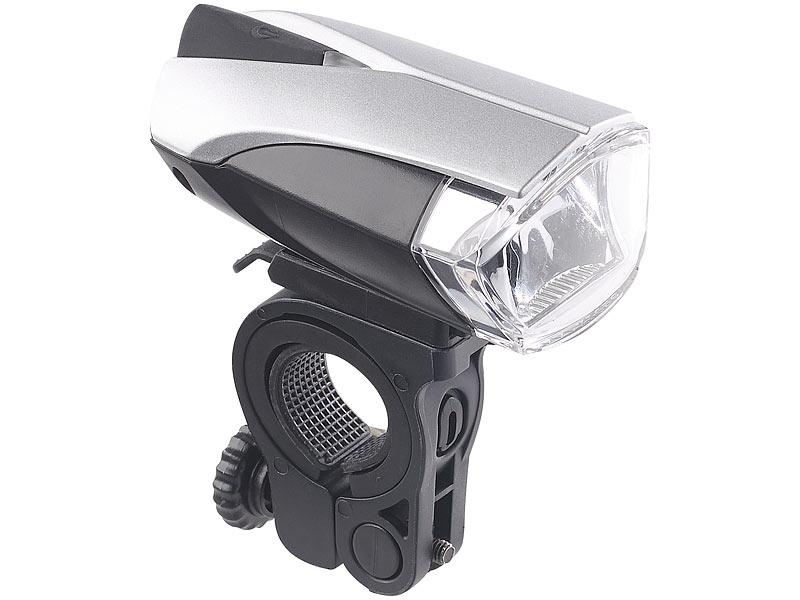 kryolights set led fahrradlampe mit licht sensor akku. Black Bedroom Furniture Sets. Home Design Ideas