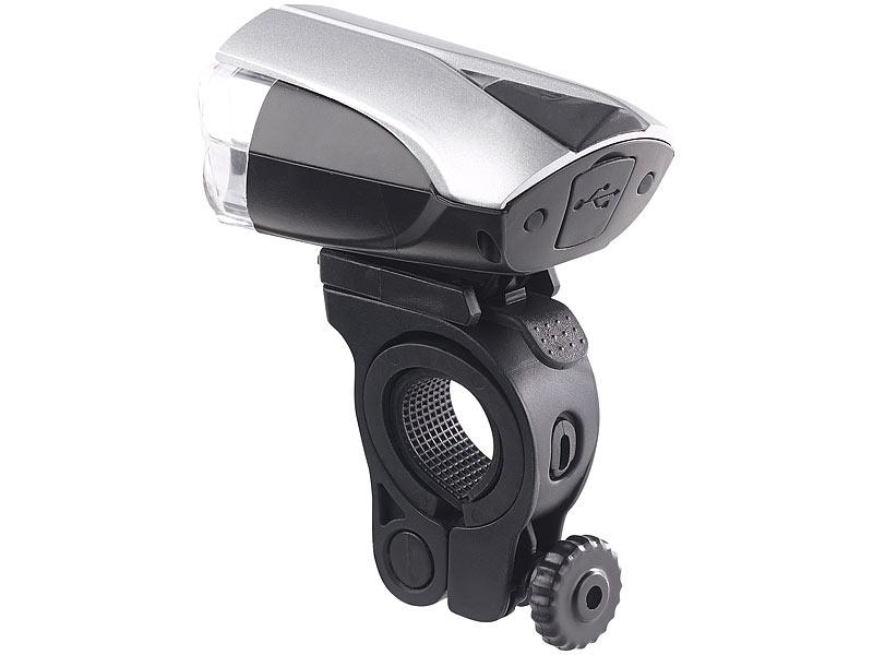 kryolights set led fahrradlampe mit licht sensor akku inkl r cklicht stvzo. Black Bedroom Furniture Sets. Home Design Ideas