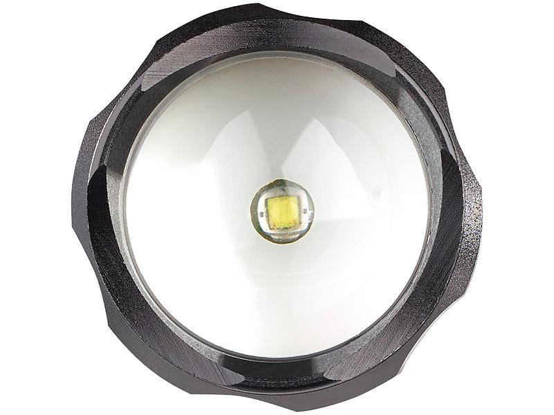 Kryolights 2in1 taschenlampe & arbeitsleuchte mit 2x 3 watt led