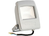 KryoLights Wetterfester LED-Fluter, 10 Watt, 750 Lumen, IP 65, warmweiß 3.000 K
