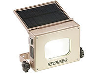 KryoLights 2in1-LED-Fluter und Powerbank, Solar-Panel, 10-Watt-COB-LED, 370 Lumen